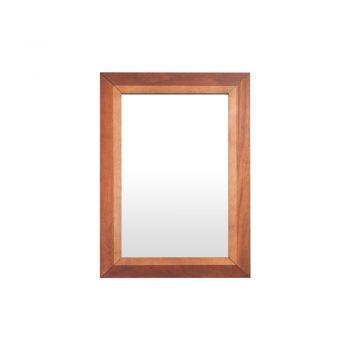 Espejo Dubai con diseño de Nogal a dos tonos