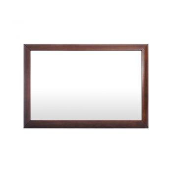 Elegante Espejo Praga diseño de Nogal