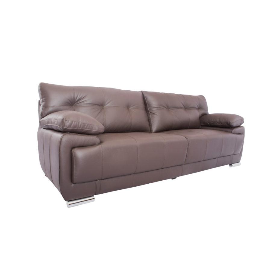 Vista lateral del sofá de la la Sala Rigal Nogal