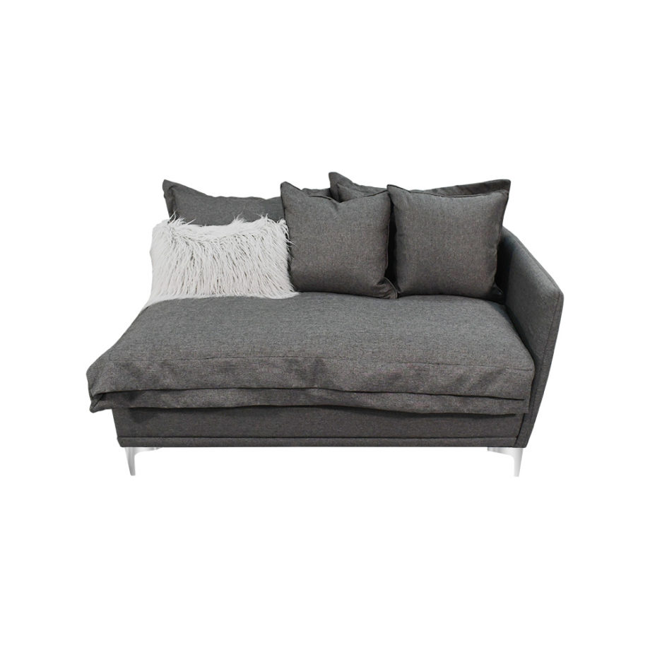 Vista frontal del sofá de tu nueva Sala Ciprés Izquierda