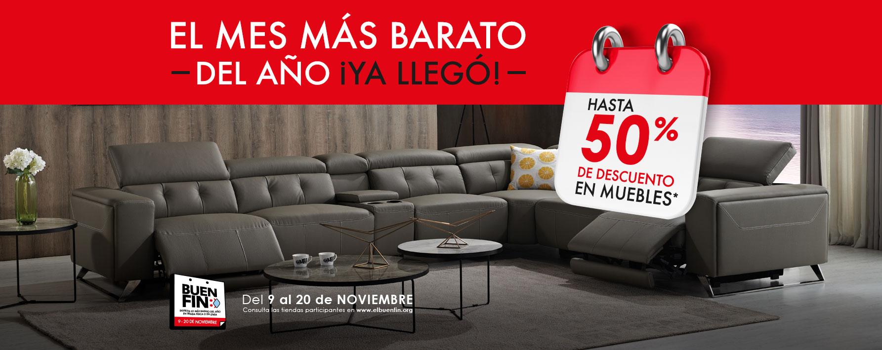 Los mejores muebles con los mejores descuentos durante todo Noviembre, disfrútalos en Béledi
