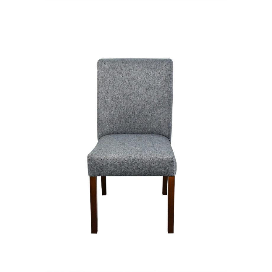 vista frontal de una silla del Antecomedor granada mármol