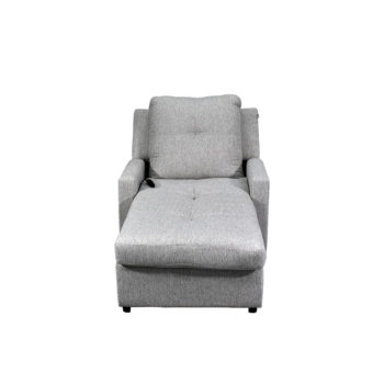 Vista frontal del Chaise Loungue Goya