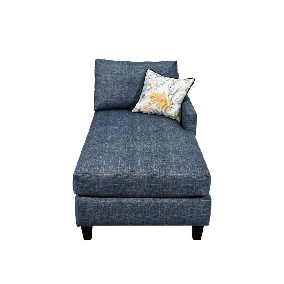 vista frontal del chaise de la sala modular san diego