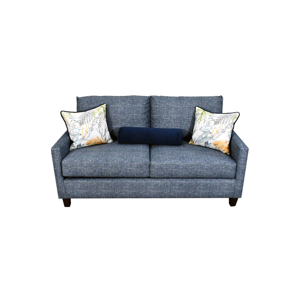 vista frontal del sofá de la sala san diego 3-2