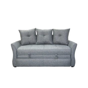 El bello sofá cama donatella linete, vista frontal